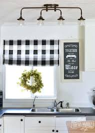 farmhouse country kitchen curtains amazing decorating ideas in 20 home is where the