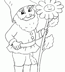 Small Picture Printable Gnome Coloring Pages New On Decoration Gallery Coloring