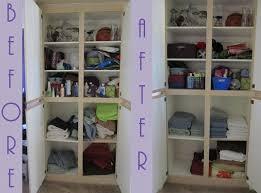 new year s resolutions get organized linen closet