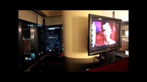 Las Vegas Hotels Suites 3 Bedroom Hilton Las Vegas Elara 2 Bedroom Suite Top Floor Jacuzzi Youtube