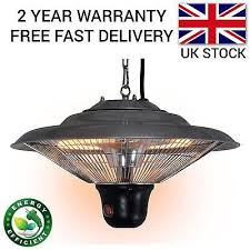 electric patio heater. Electric Patio Heater Outdoor Garden Ceiling Hanging Infrared Halogen 1500W
