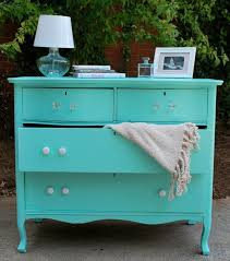 Tiffany Blue Painted Dresser by French Silver on Etsy
