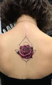 Beautiful Rose Tattoo Ideas Spine Tattoos On Eye Triangle Tattoo