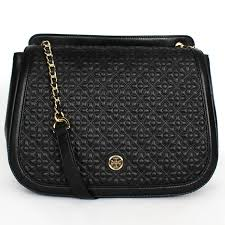Tory Burch Bryant Quilted Leather Shoulder Bag Black: Handbags ... & Tory Burch Bryant Quilted Leather Shoulder Bag Black: Handbags: Amazon.com Adamdwight.com