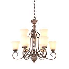 chandeliers drum light chandelier portfolio colton lakes 2525 in oil rubbed bronze mediterranean tinted