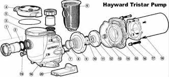 hayward tristar inground pool pump give your pool filter system Inground Pool Diagram hayward schematic parts diagram inground pool diagram