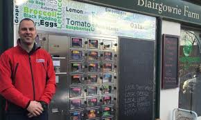 Vending Machine Shop Unique UK Grocery Vending Machine To Sell Produce 48 Hours A Day