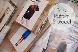 Sewing Pattern Storage Custom Decorating Design
