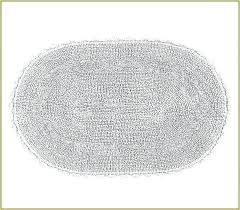 A Small Oval Bathroom Rugs Bath Towel  Rug
