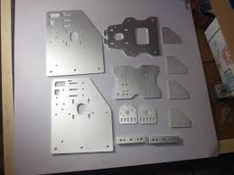 ox cnc machine parts cnc cut aluminium ox gantry plates kit angle joint plate back x axis front plate set 4 wheel x spacers ox cnc machine cnc cut gantry