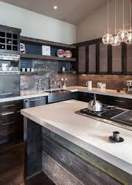 Rustic Kitchen Island Brilliant Modern Rustic Kitchen Island Size Of Captivating Design