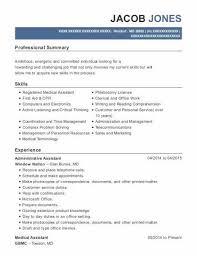 Administrative Assistant Resume Sample Inspirational Administrative
