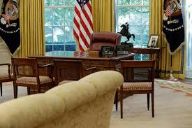 the white house oval office. The Oval Office Of White House Is Seen After A Renovation In Washington, US. (Reuters Photo)