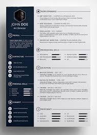 Free Resume Design Templates 25 Best Creative Cv Template Ideas On  Pinterest Creative Cv Download
