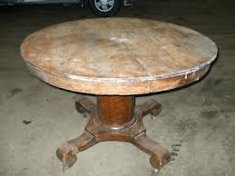 antique round oak table images innovative ideas antique round dining table stunning idea round oak