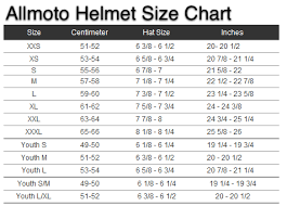 Youth Motorcycle Helmet Sizing Chart Motorcycle Parts For