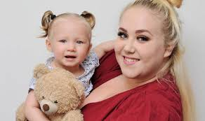 Together again, baby Brooke is reunited with lost teddy left by ...