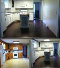 put on big blank wall in kitchen