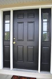 front doors with side panelsshould I paint my front door and two side panels the same colour