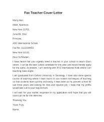 Example Of Education Cover Letters Substitute Teaching Cover Letter Substitute Teacher Cover Letter