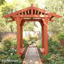 diy garden arbor how to build a timber frame garden arbor diy garden arbor ideas