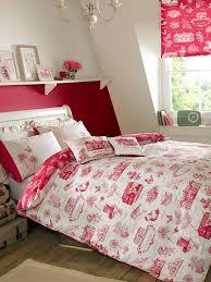 Raspberry Bedroom Kirstie Allsopp Harriet Double Quilt Cover Raspberry House Of Fraser