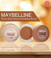 Maybelline Dream Matte Mousse Foundation Review And Shades