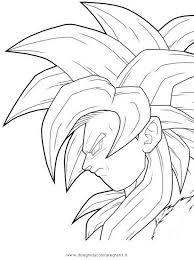 Disegno Dragonballgokussj4supersajan7 Personaggio Cartone