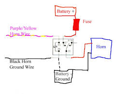 wiring diagram car horn wiring diagram car horn wiring circuit how to install aftermarket horn button at Car Horn Wiring Diagram