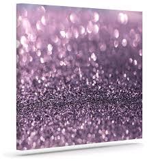 debbra obertanec quotlavender sparklequot purple glitter wrapped saveenlarge canvas wall