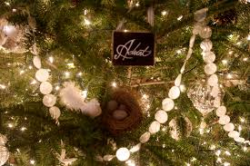 Look Alike Capiz Shell Christmas Garland