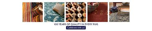 100 years of quality in every rug we make