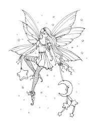 fairy color pages coloring fairy coloring pages for adults
