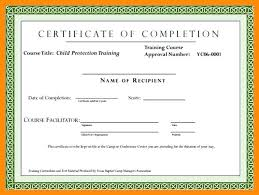 Certificate Of Training Completion Template Industrial Training Certificate Template Sample Of