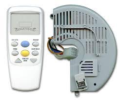 image of hampton bay ceiling fan remote control part