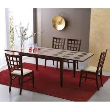 Table en verre avec allonge - 130 cm x 90 cm - Fly | 4-pieds.com