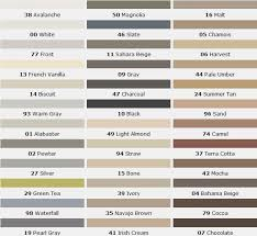 Daltile Grout Chart Mapei Color Grout Gray 9 Mapei Grout Colors Mapei Grout