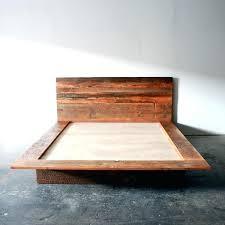 reclaimed wood storage bed viibezco