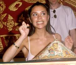 posh spice makeup. here she is smiling so big at a signing in 1997. posh spice makeup e
