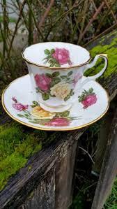 Decorating With Teacups And Saucers Floral Gold Teacup Saucer SetDel Coronado Japan NascoGarden Tea 99