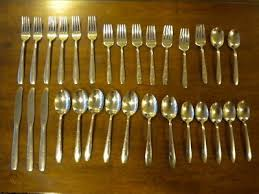 vintage wallace stainless flatware
