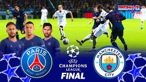 PSG vs Manchester City - Final UEFA Champions League 2022 - Match eFootball  PES 2021 - YouTube
