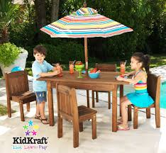 Kids Patio Furniture Outdoor Sets At Tar With Umbrella For