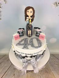 Prosecco And Shopping 40th Birthday Cake Mels Amazing Cakes