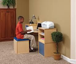 simple and unique kids computer desk design