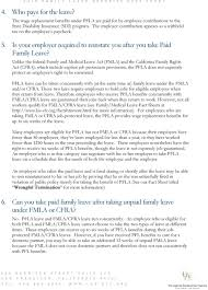 Paid Family Leave Benefits Pdf