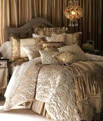 champagne comforter set luxury jacquard satin champagne wedding bedding king size sets set queen champagne colored