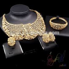 dubai gold jewelry set wedding ceremony suit speciality gifts