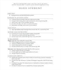 Resume Sample For Part Time Job Of Student Job Resume Sample For