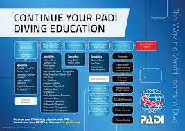 Padi Courses Chart Bali Scuba